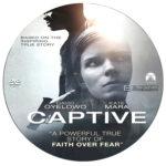 Captive (2015) R0 Custom Disc Label