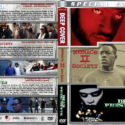 Deep Cover / Menace II Society / Dead Presidents Triple Feature (1992-1995) R1 Custom Cover