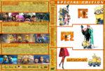 Despicable Me / Despicable Me 2 / Minions Triple Feature (2010-2015) R1 Custom Cover