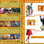 Despicable Me / Despicable Me 2 / Minions Triple Feature (2010-2015) R1 Custom Cover