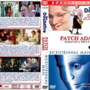 Mrs. Doubtfire / Patch Adams / Bicentennial Man Triple Feature (1993-1999) R1 Custom Cover