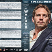 Paul Walker Filmography – Set 5 (2013-2015) R1 Custom Covers