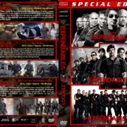 The Expendables Triple Feature (2010-2014) R1 Custom Cover
