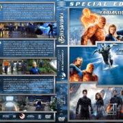 Fantastic 4 Triple Feature (2005-2015) R1 Custom Cover