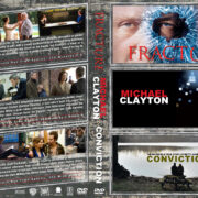 Fracture / Michael Clayton / Conviction Triple Feature (2007-2010) R1 Custom Cover
