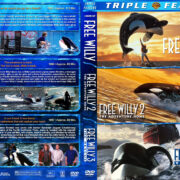 Free Willy Triple Feature (1993-1997) R1 Custom Cover