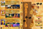 Garfield Gets Real / Garfield's Fun Fest / Garfield's Pet Force Triple Feature (2007-2009) R1 Custom Cover