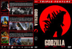 Godzilla Triple Feature (1954-1989) R1 Custom Cover