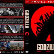 Godzilla Triple Feature (1954-1989) R1 Custom Cover