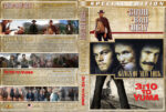 The Good, the Bad and the Ugly / Gangs of New York / 3:10 to Yuma / Triple Feature (1966-2007) R1 Custom Cover