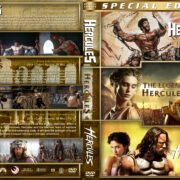 Hercules Triple Feature (1983-2014) R1 Custom Cover