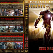 Iron Man Trilogy (2008-2013) R1 Custom Covers