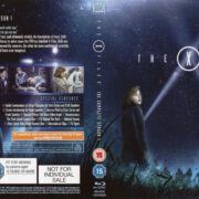 The X-Files – Season 1 (1993) R2 Blu-Ray Cover & Labels