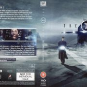 The X-Files – Season 2 (1994) R2 Blu-Ray Cover & Labels