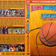 Like Mike / Like Mike 2 / Thunderstruck Triple Feature (2002-2012) R1 Custom Cover