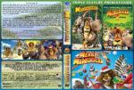 Madagascar Triple Feature (2005-2009) R1 Custom Cover