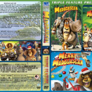 Madagascar Triple Feature (2005-2009) R1 Custom Cover