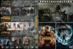 Clash of the Titans / Prince of Persia / Percy Jackson and the Olympians: The Lightning Thief Triple (2010) R1 Custom Cover
