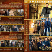 Night at the Museum Triple Feature (2006-2014) R1 Custom Cover