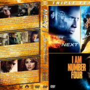 Next / Jumper / I am Number Four Triple Feature (2007-2011) R1 Custom Cover