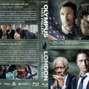 Olympus Has Fallen / London Has Fallen Double Feature (2013-2016) R1 Custom Blu-Ray Covers