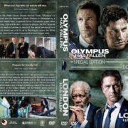 Olympus Has Fallen / London Has Fallen Double Feature (2013-2016) R1 Custom Covers