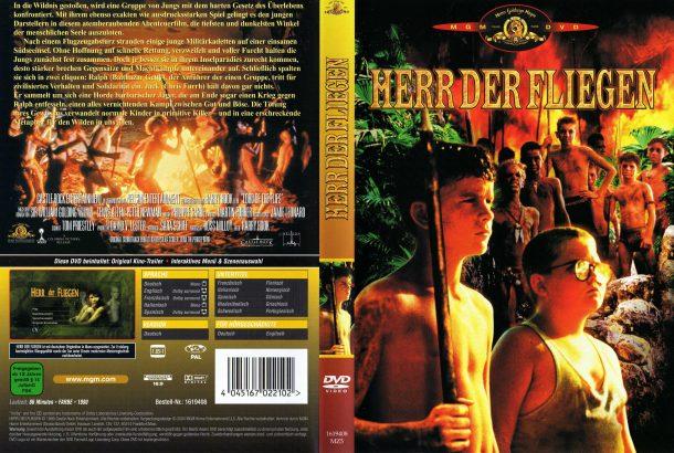 Herr der Fliegen (1990) R2 GERMAN Cover