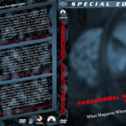 Paranormal Activity Trilogy (2007-2011) R1 Custom Cover