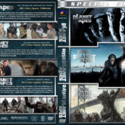 Planet of the Apes Triple Feature (2001-2014) R1 Custom Cover