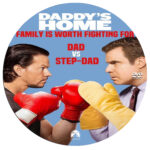Daddy's Home (2015) R0 Custom Disc Label