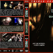 [•Rec] / Quarantine / [•Rec}2 Triple Feature (2007-2009) R1 Custom Cover