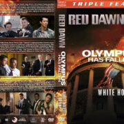 Red Dawn / Olympus Has Fallen / White House Down Triple Feature (2012-2013) R1 Custom Cover