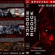 Riddick Trilogy (1999-2013) R1 Custom Covers