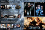 A.I. / Eqilibrium / The Island Triple Feature (2001-2005) R1 Custom Cover