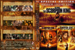 The Scorpion King Triple Feature (2002-2011) R1 Custom Cover