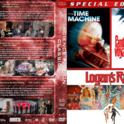 The Time Machine / Logan's Run / Fantastic Voyage Triple Feature (1960-1976) R1 Custom Cover