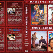 1980s Comedy 4-Pack – Set 2 (1987) R1 Custom Cover