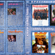 1980s Comedy 4-Pack – Set 3 (1984-1989) R1 Custom Cover