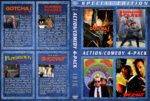 Action / Comedy 4-Pack (1985-1991) R1 Custom Cover