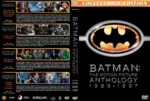 Batman: The Motion Picture Anthology (1989-1997) R1 Custom Cover