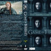 Game Of Thrones: Season 6, Volume 1 (2016) R0 CUSTOM Cover & labels