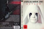 American Horror Story Asylum: Staffel 2 (2012) R2 German Custom Cover & labels