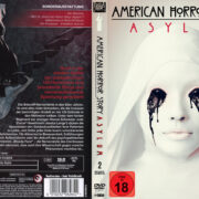 American Horror Story Asylum: Staffel 2 (2012) R2 German Custom Cover & labels