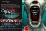 American Horror Story Freak Show: Staffel 4 (2014) R2 German Custom Cover & labels