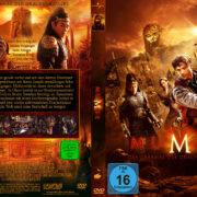 Die Mumie 3 Das Grabmal des Drachenkaisers (2008) R2 German Custom Cover & label
