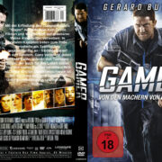 Gamer (2009) R2 German Custom Cover & label