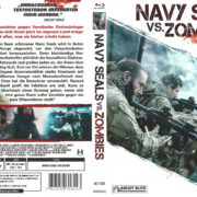 Navy Seals vs Zombies (2015) R2 German Custom Blu-Ray Cover & label