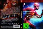 The Flash: Staffel 1 (2015) R2 German Custom Covers & labels