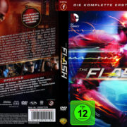 The Flash: Staffel 1 (2015) R2 German Custom Covers & labels
