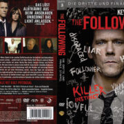 The Following: Staffel 3 (2015) R2 German Custom Cover & labels